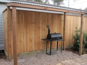 We will be adding an outdoor sink soon.