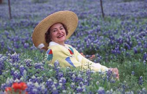 Lady Bird Johnson a shy country girl who loved wildflowers.