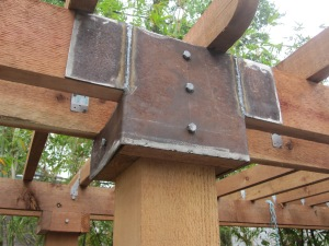 Welded brackets