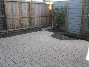water permeable patio