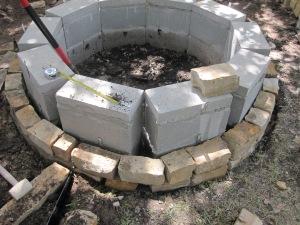 Adding a chop-stone facade