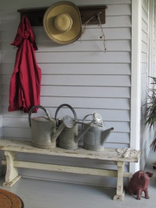 My watering cans! I yes I really do use them : )