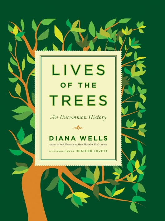 LIVES of the TREES An Uncommon History by Diana Wells
