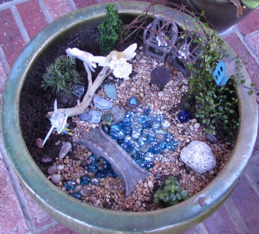 fairy garden played with
