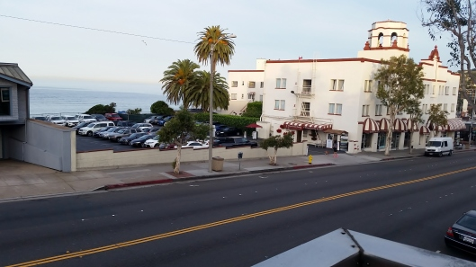 View across PCH from our apartment over the gallery.