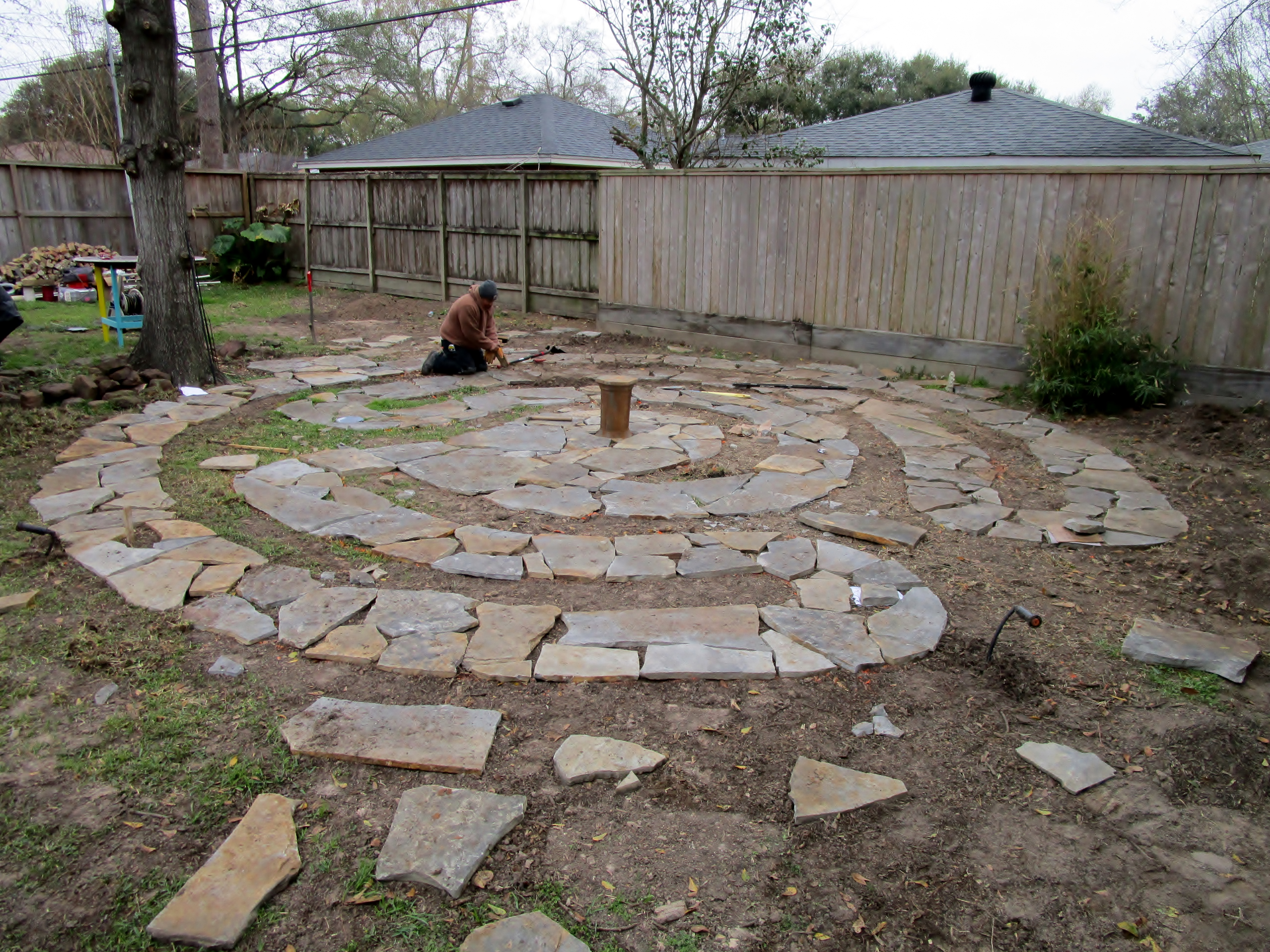 Designing and Constructing a Labyrinth (and sharing a bit of ... on easy prayer labyrinth designs, simple labyrinth design, outdoor labyrinth design,