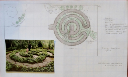 Labyrinth Design by Ravenscourt Landscaping & Design LLC