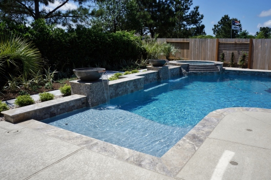 Poolscape in Fairfield by Ravenscourt Landscaping & Design LLC