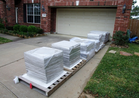 cement pad delivery
