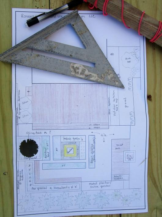 site plans Salsa Garden