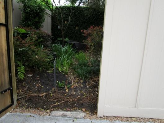 raised soil level