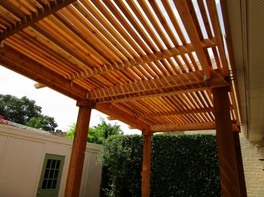 Pergola for shade