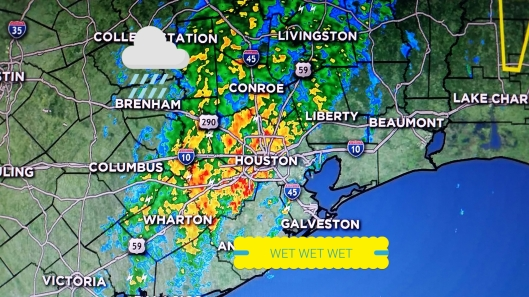 Houston Radar picture for 11/17/2015