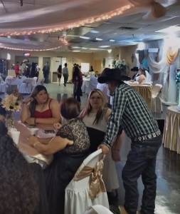 Ismael's wedding reception