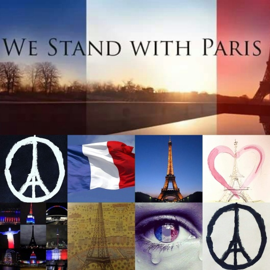 We stand with Paris
