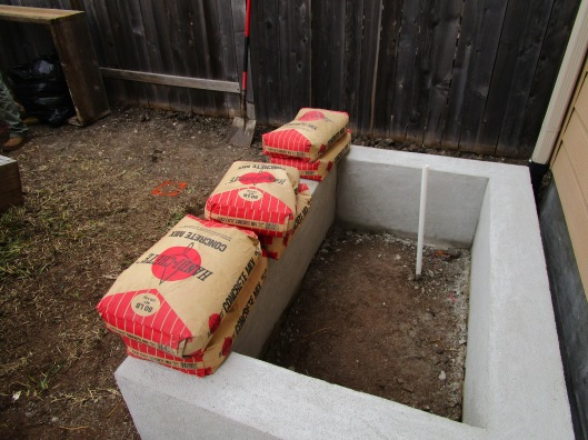 raised veg and herb bed