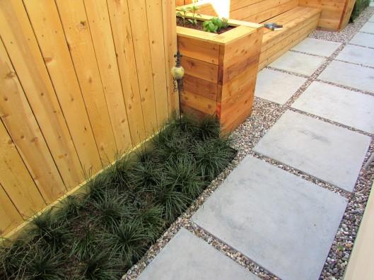 Tiny lawn, Mondo Grass