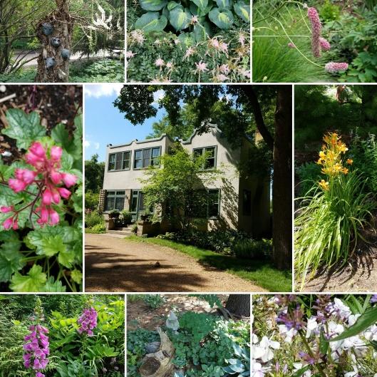 #GBFling Kelley and Carmichiel private garden
