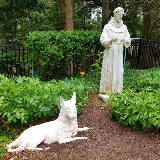 Saint Frances and the Wolf at Franciscan Monastery in DC